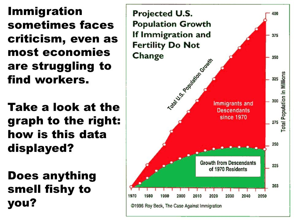 Immigration sometimes faces criticism, even as most economies are struggling to find workers.