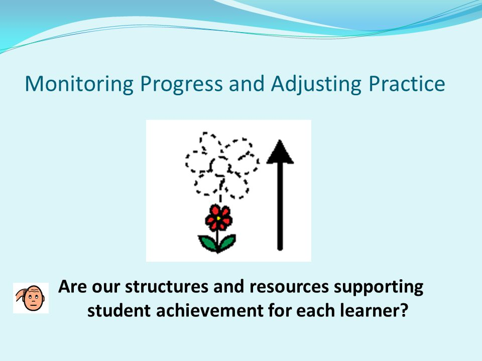 Monitoring Progress and Adjusting Practice