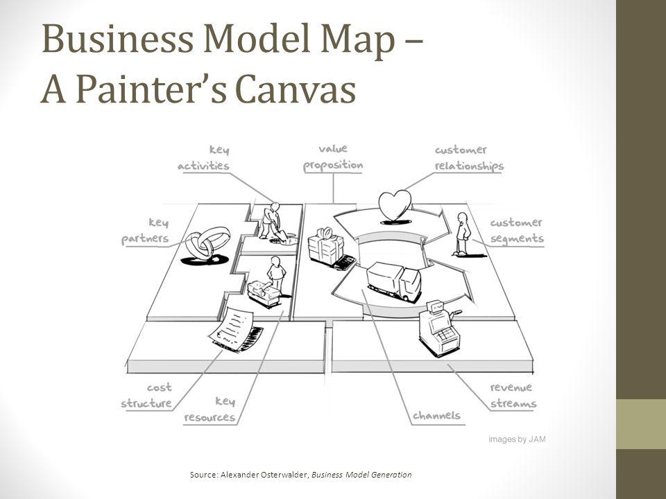 Business Model Map – A Painter's Canvas