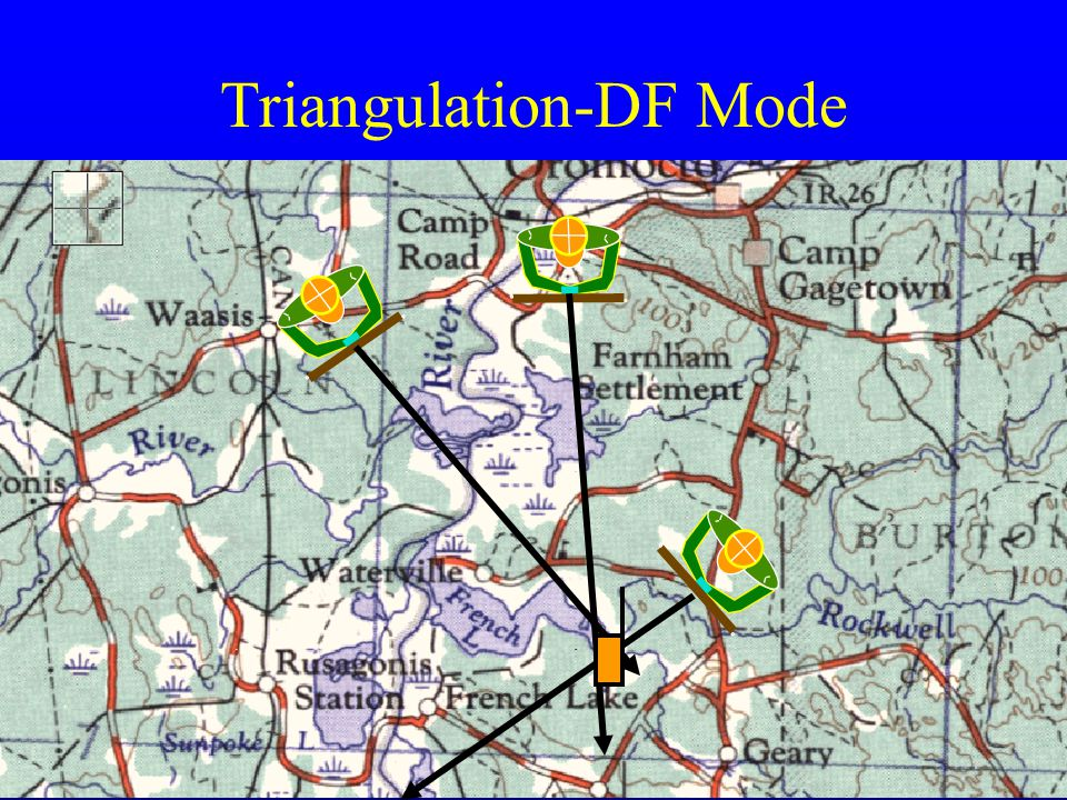 Triangulation-DF Mode