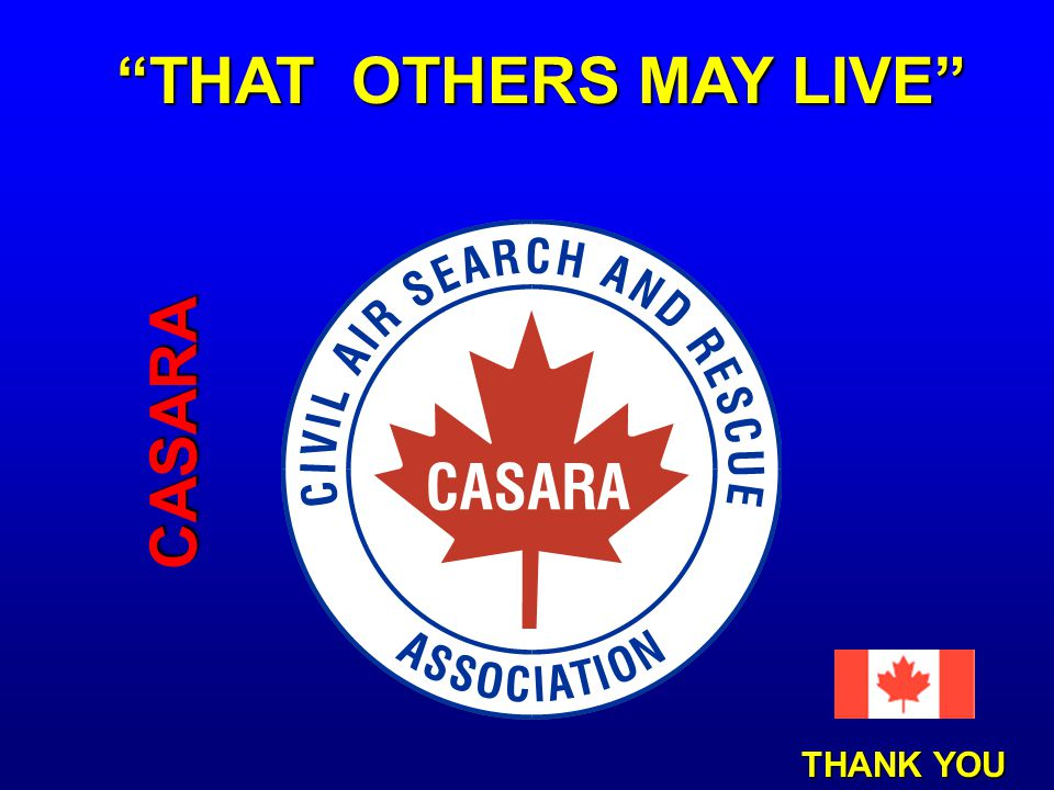 THAT OTHERS MAY LIVE CASARA THANK YOU