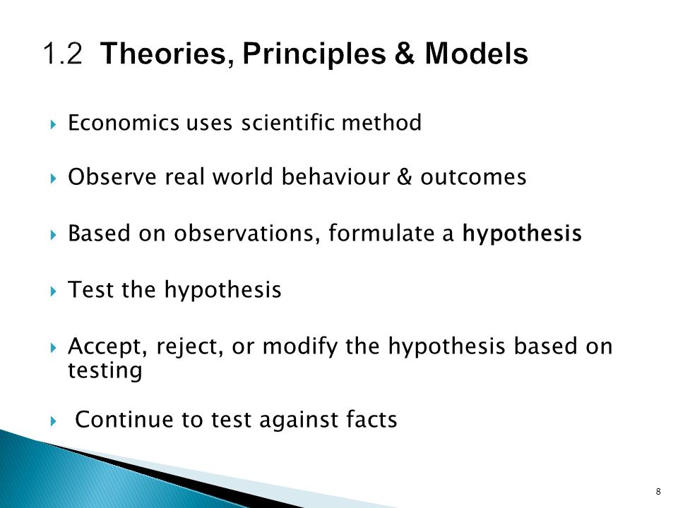 1.2 Theories, Principles & Models