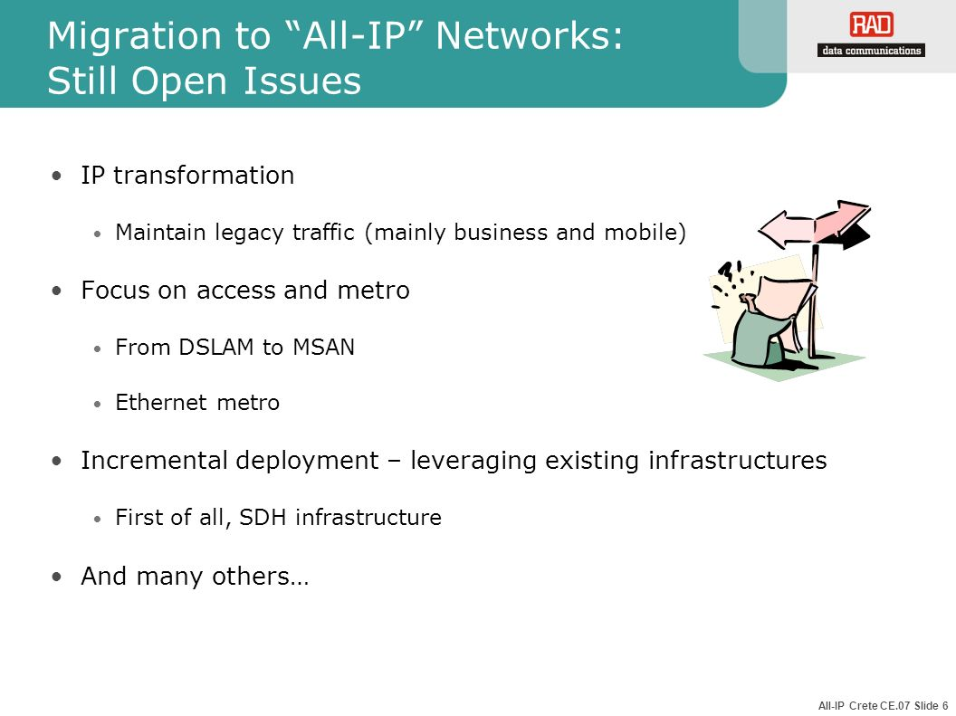 Migration to All-IP Networks: Still Open Issues