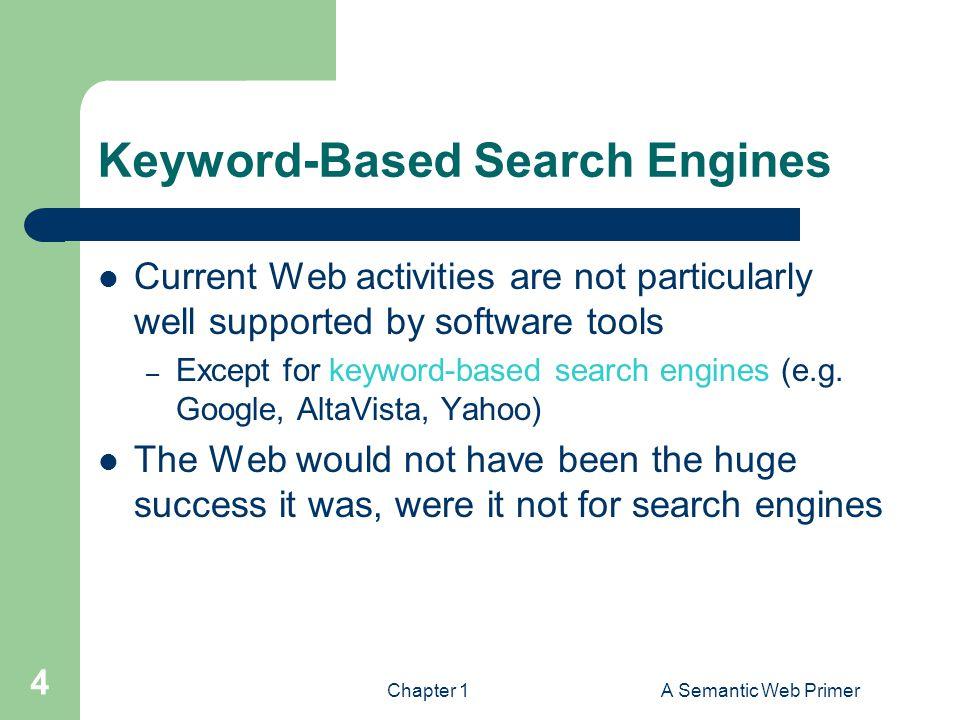 Keyword-Based Search Engines