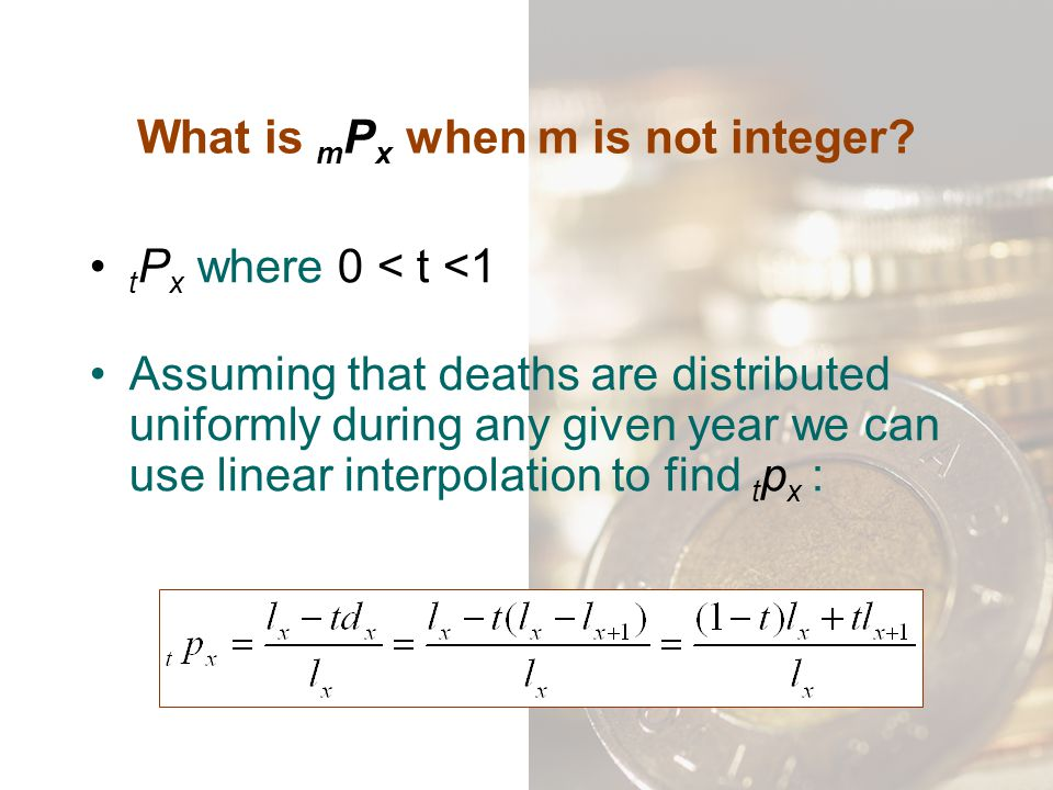 What is mPx when m is not integer