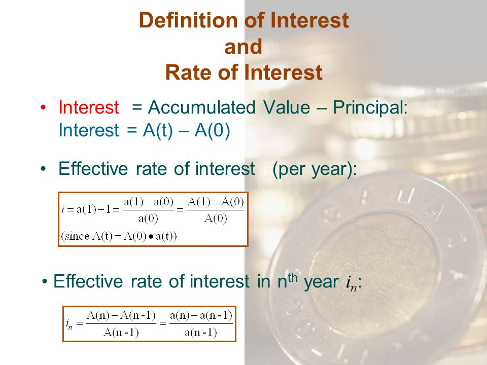 Math 3286 mathematics of finance ppt download for Terest definition