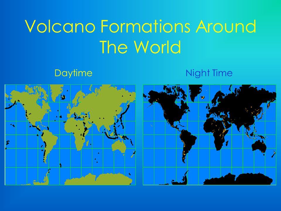 Volcano Formations Around The World