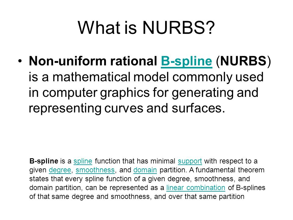 What is NURBS