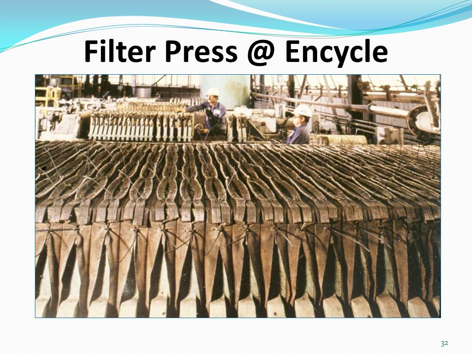Filter Press @ Encycle