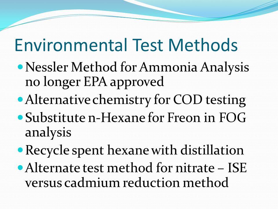 Environmental Test Methods