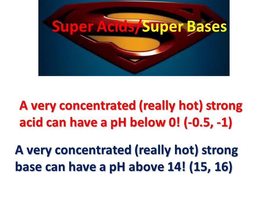 Super Acids/Super Bases
