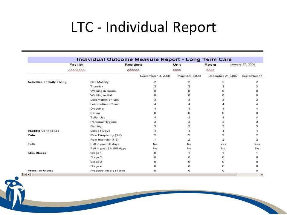 LTC - Individual Report