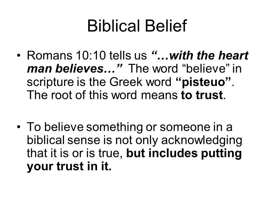 Biblical Belief