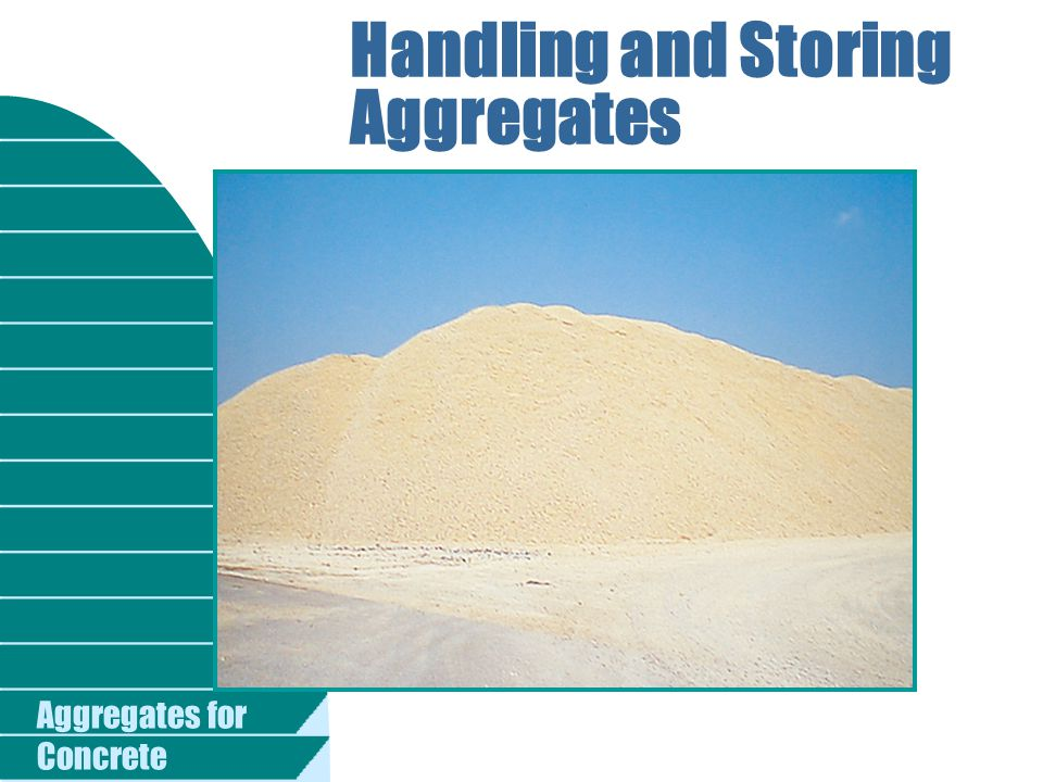 Handling and Storing Aggregates