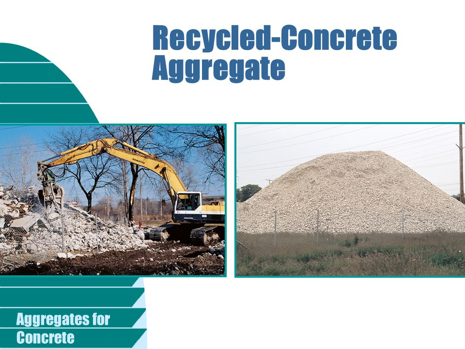Recycled-Concrete Aggregate