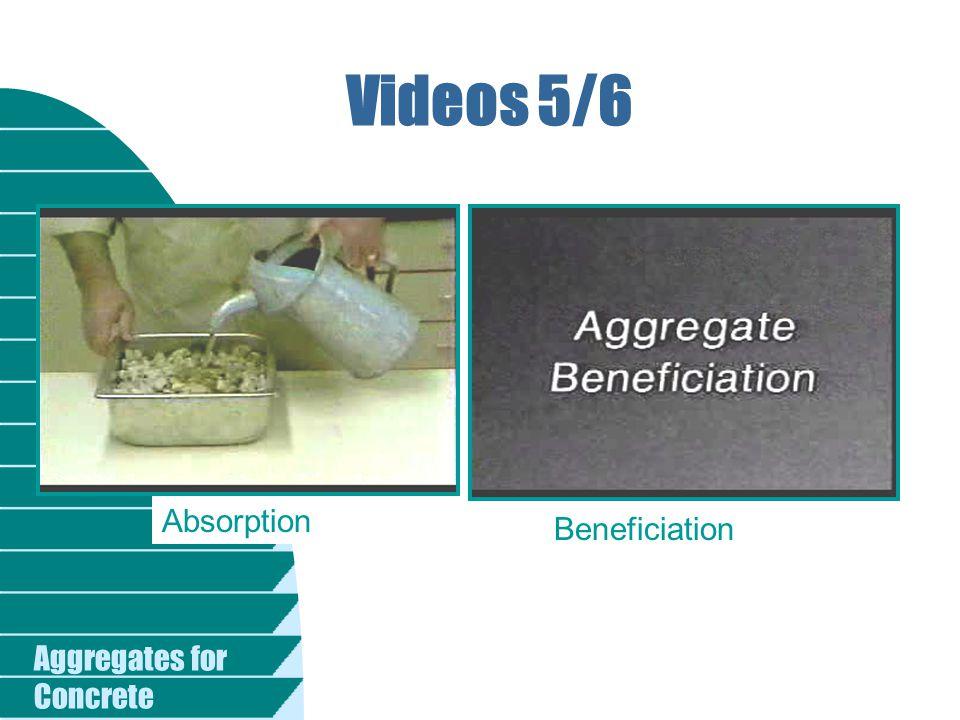 Videos 5/6 Absorption Beneficiation