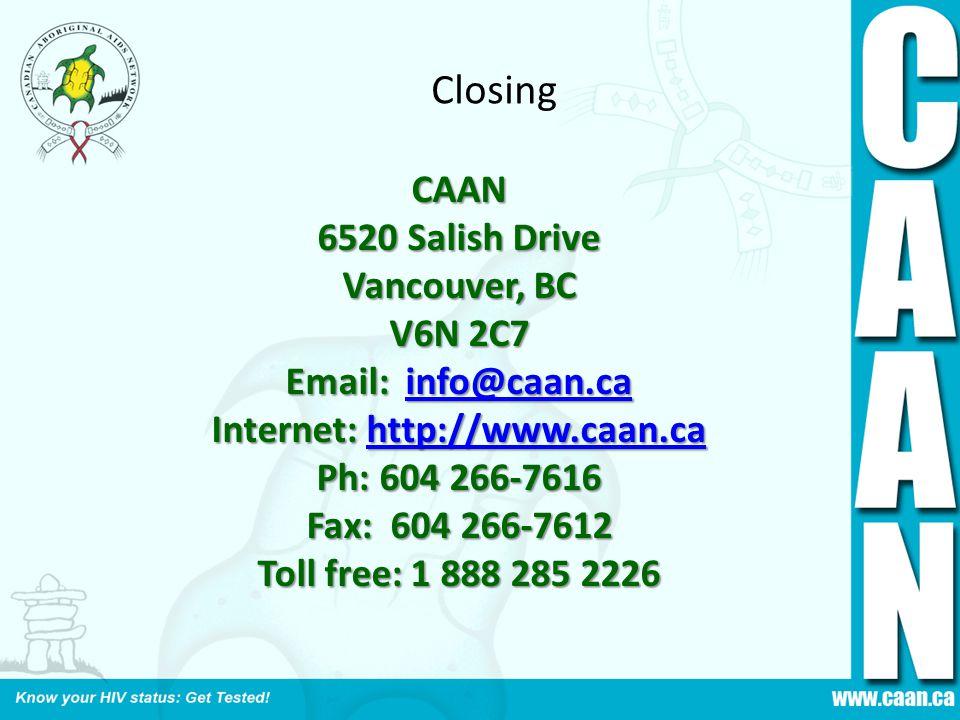 Internet: http://www.caan.ca