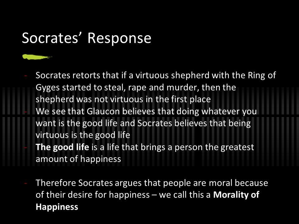 Socrates' Response
