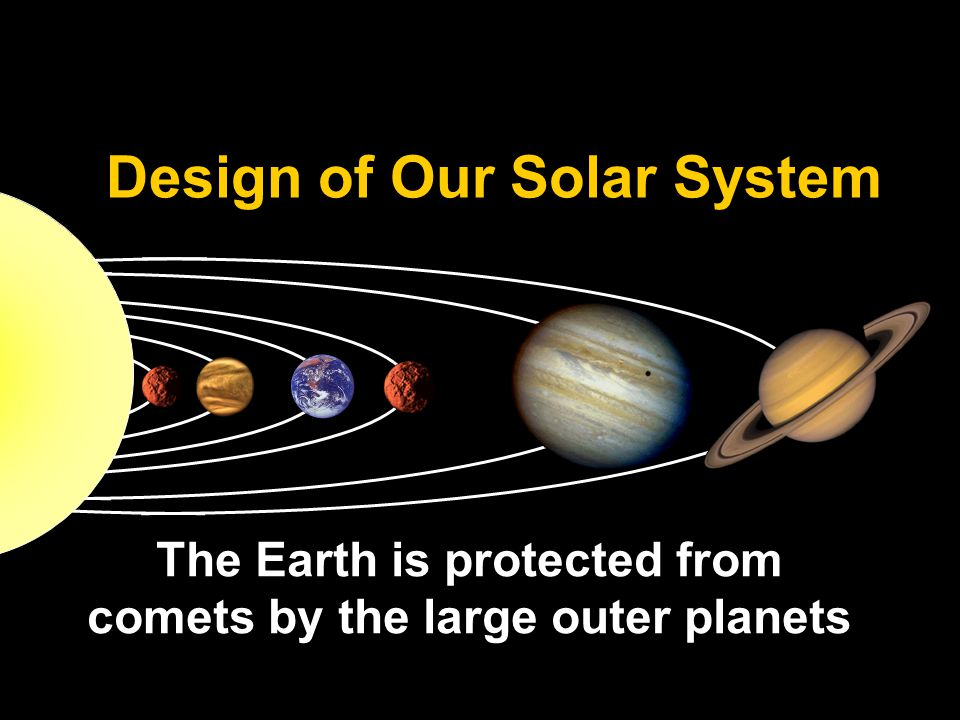 Design of Our Solar System