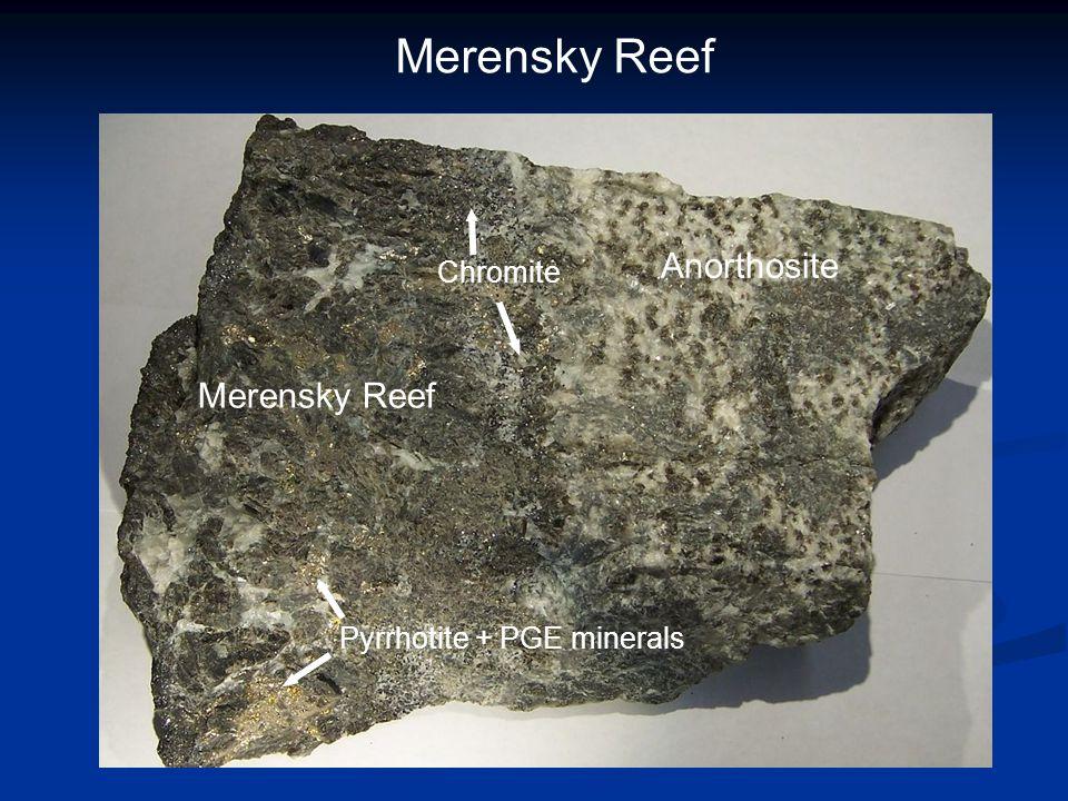 Merensky Reef Anorthosite Merensky Reef Chromite