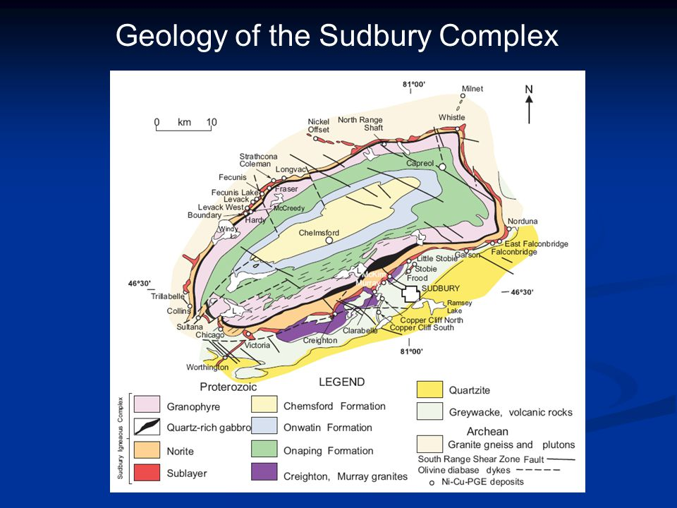 Geology of the Sudbury Complex