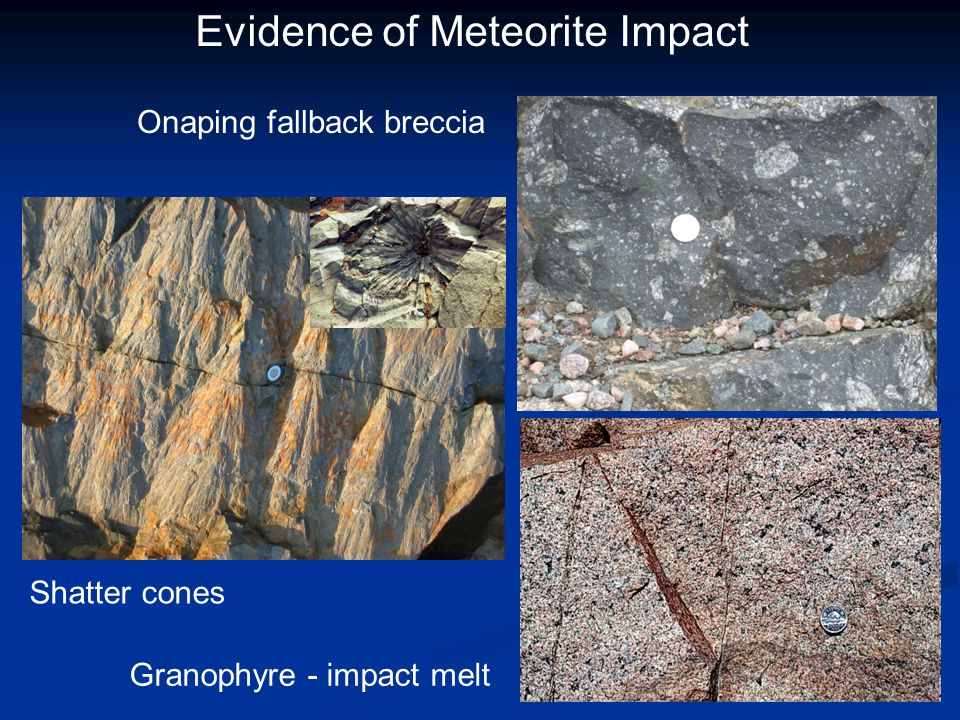 Evidence of Meteorite Impact