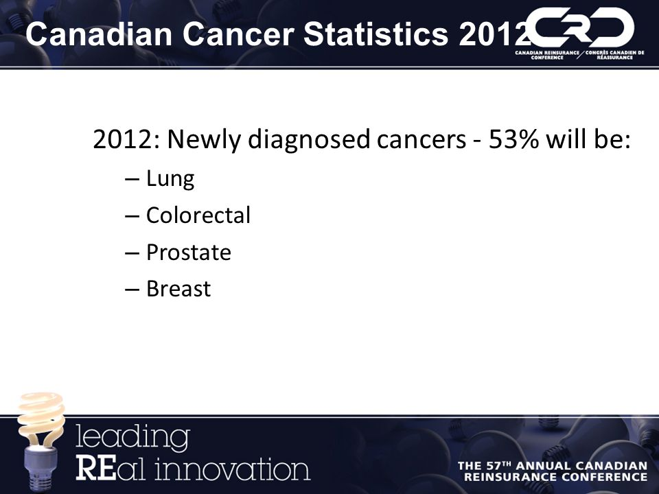 Canadian Cancer Statistics 2012