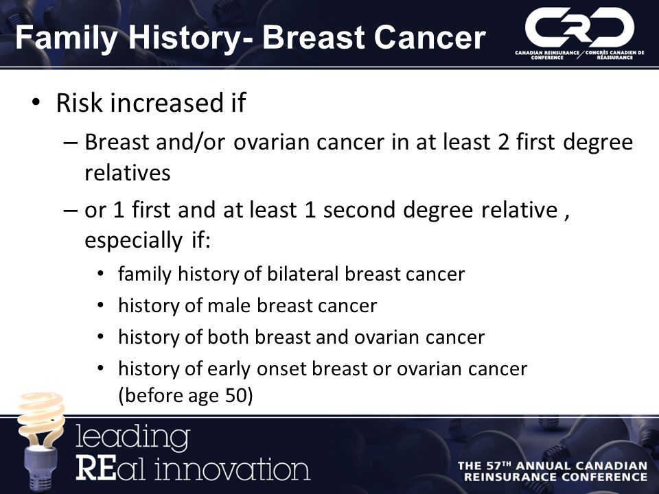 Family History- Breast Cancer