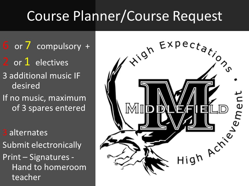 Course Planner/Course Request