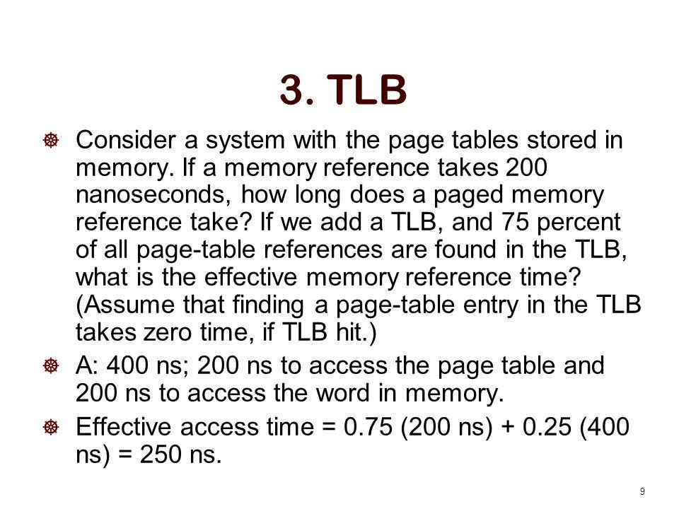 3. TLB
