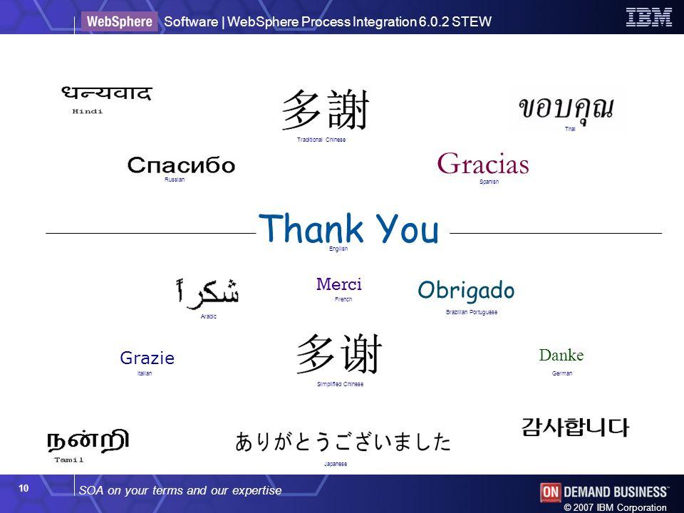 Thank You Gracias Obrigado Merci Danke Grazie Thank You ! Thai