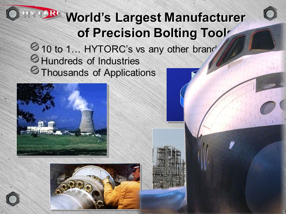World's Largest Manufacturer of Precision Bolting Tools