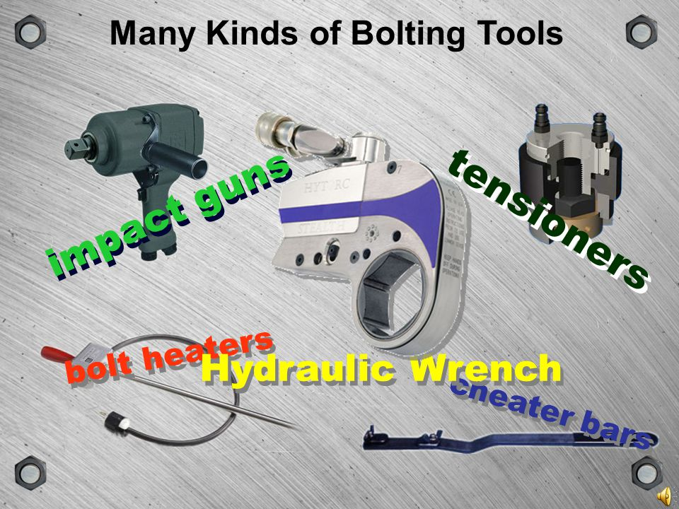 Many Kinds of Bolting Tools