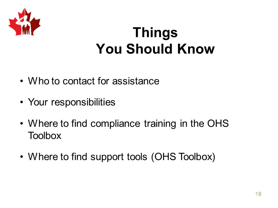 Things You Should Know Who to contact for assistance