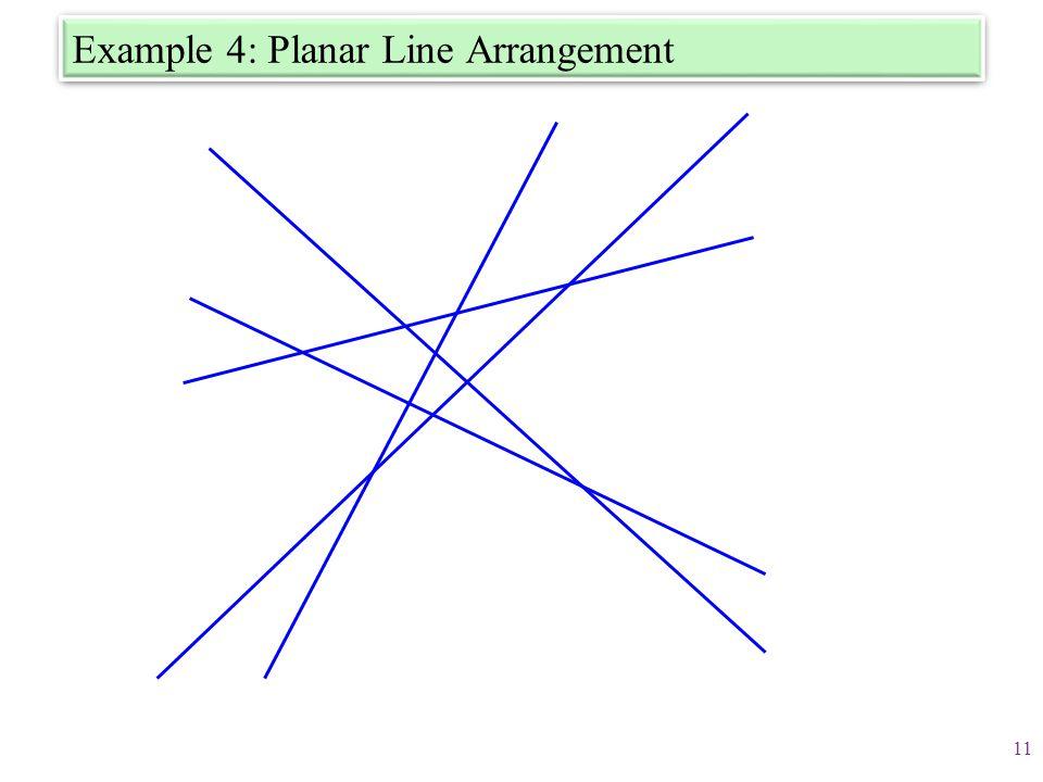 Example 4: Planar Line Arrangement