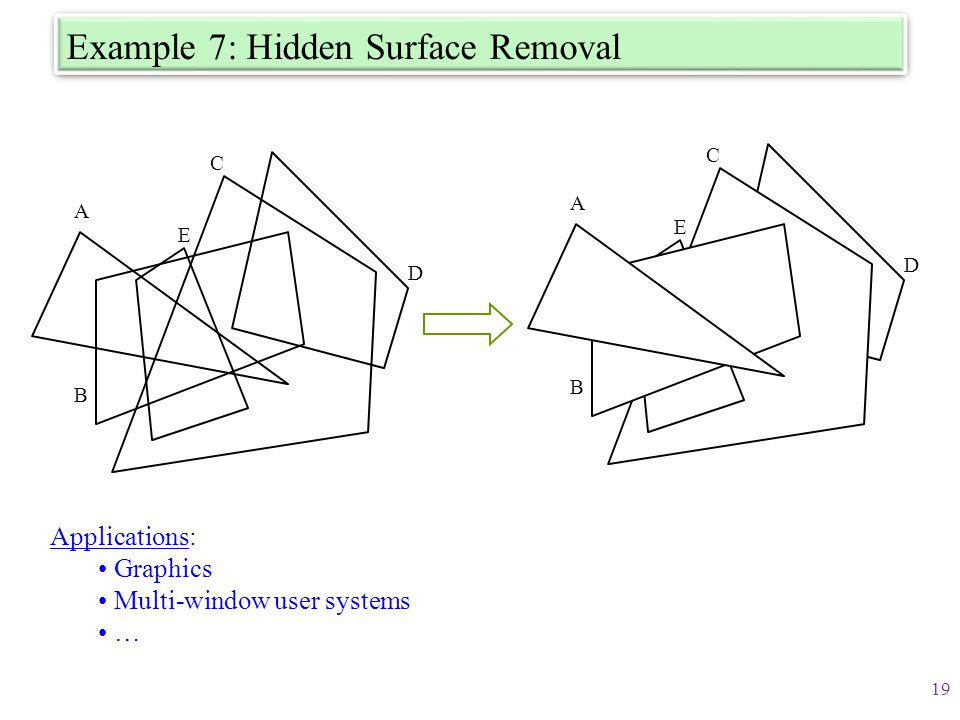 Example 7: Hidden Surface Removal
