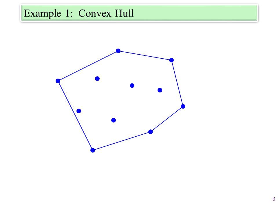 Example 1: Convex Hull