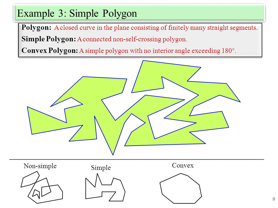 Example 3: Simple Polygon