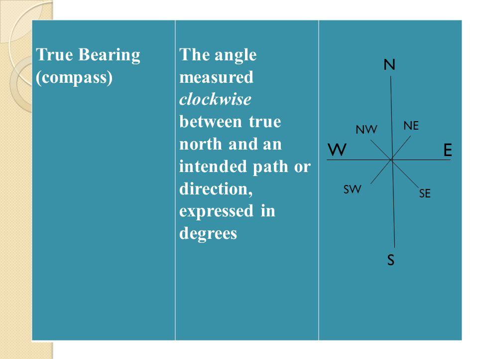 True Bearing (compass)