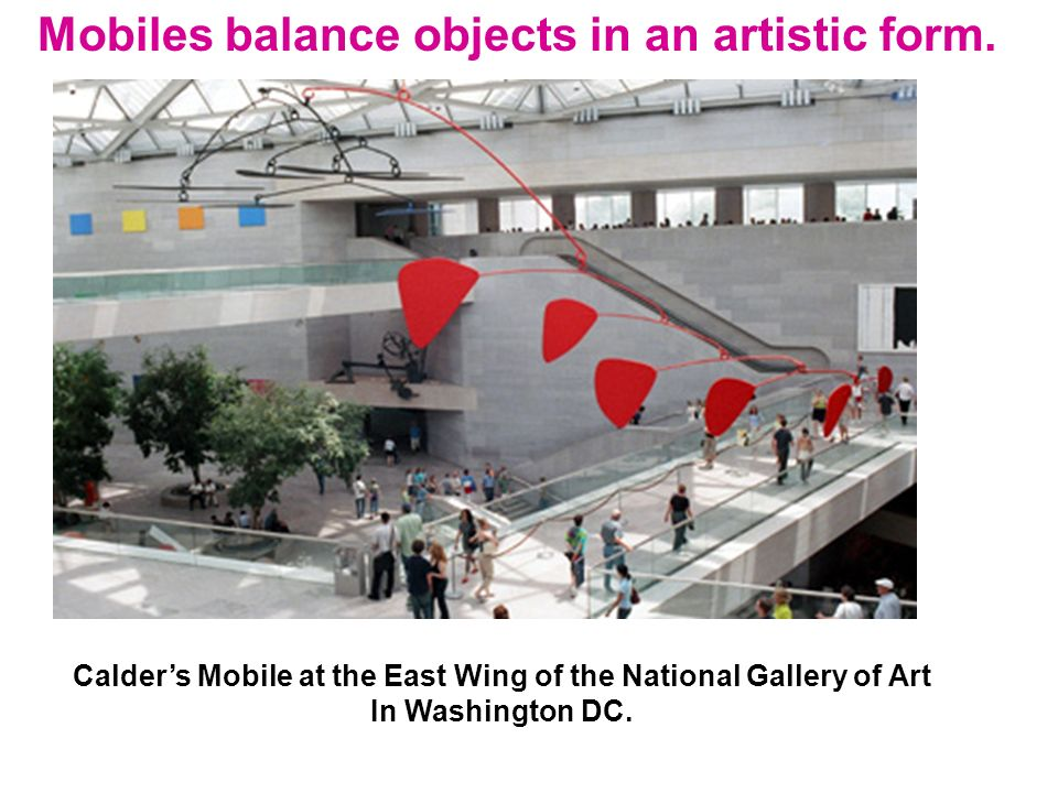 Calder's Mobile at the East Wing of the National Gallery of Art