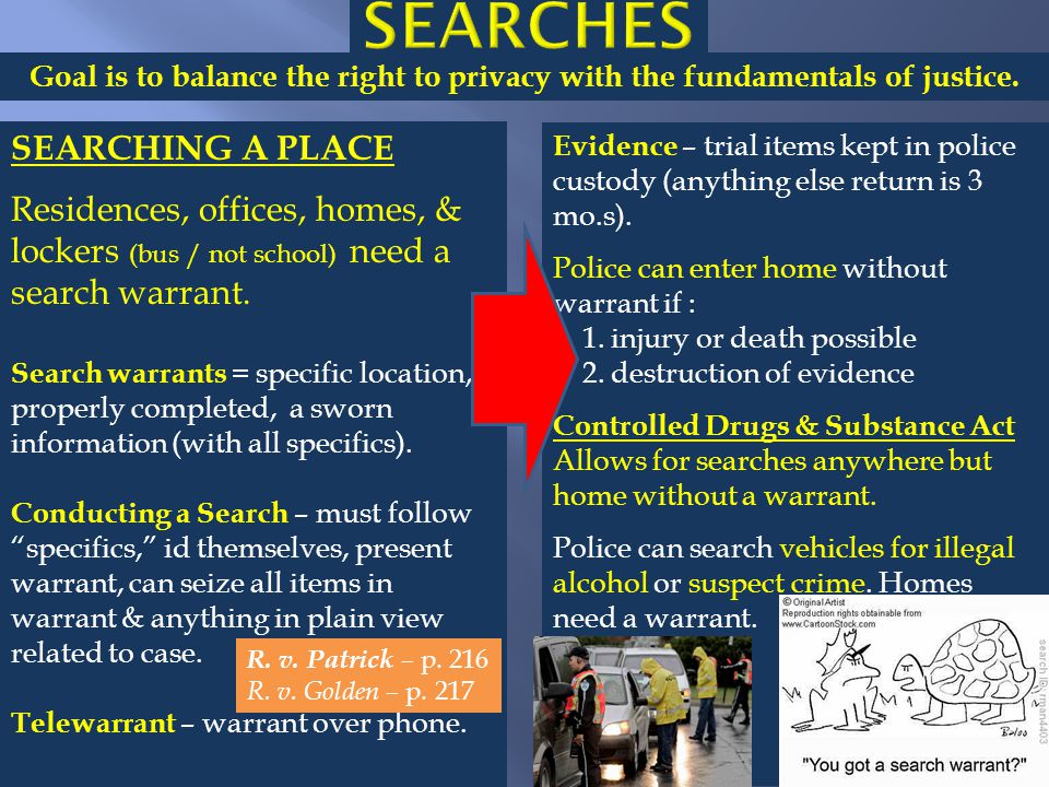 searches SEARCHING A PLACE