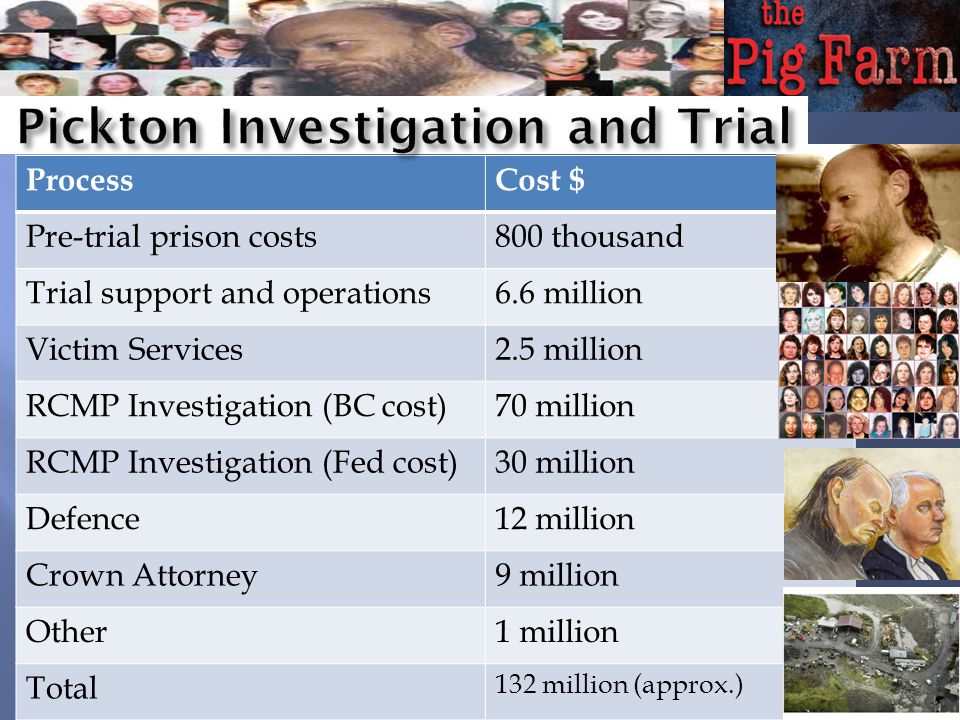Pickton Investigation and Trial