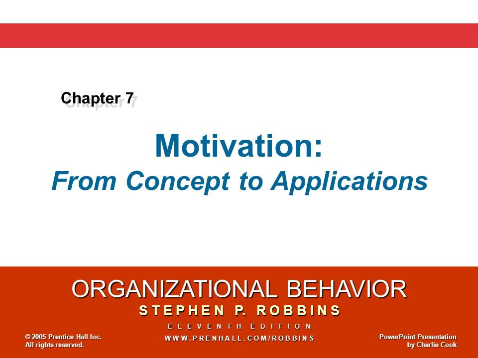 Motivation: From Concept to Applications