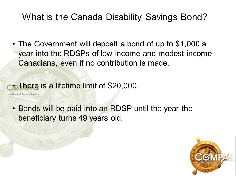 What is the Canada Disability Savings Bond