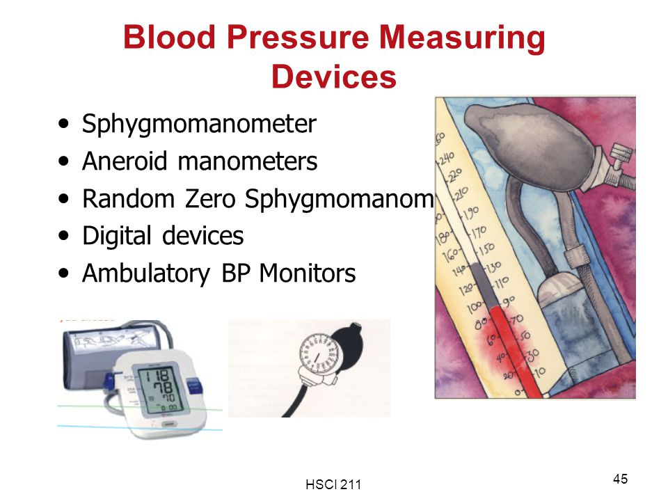 Blood Pressure Measuring Devices