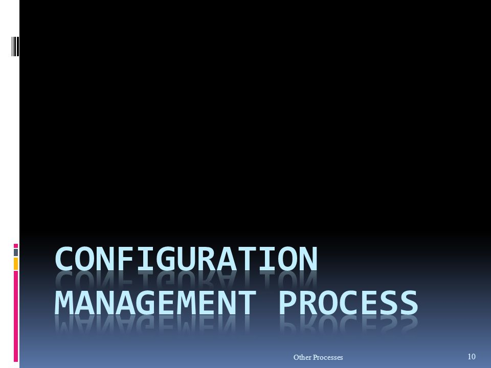 Configuration Management Process