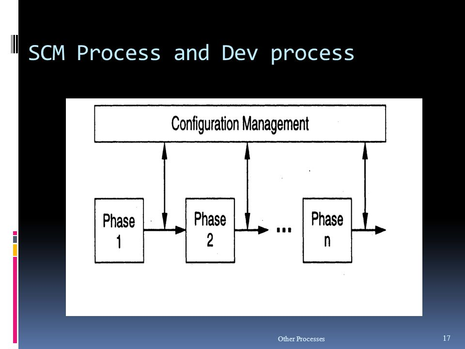 SCM Process and Dev process