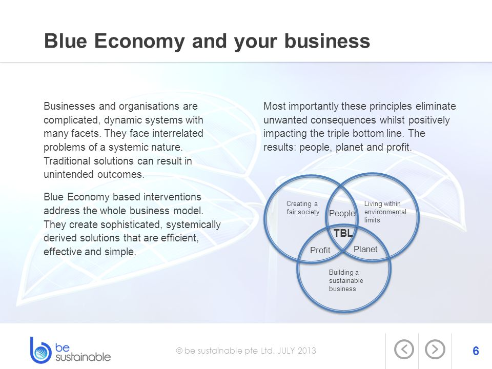 Blue Economy and your business