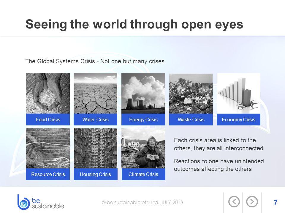Seeing the world through open eyes