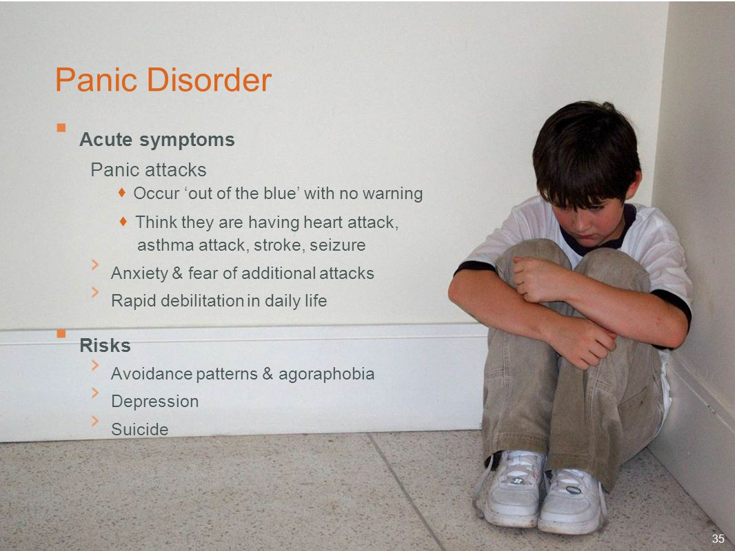 Panic Disorder Acute symptoms